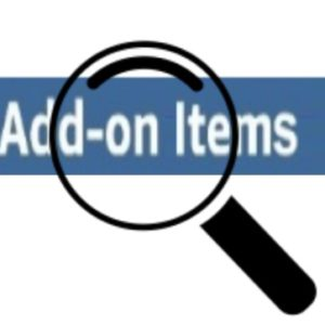 How to search for amazon add on items